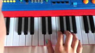 How To Play Funhouse On The Piano