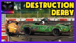 Wreckfest #56 - Destruction Derby with Convertible