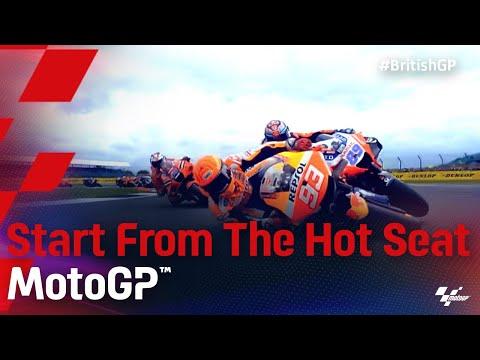MotoGP 2021 第12戦イギリス シートポジションから見た走りをまとめた動画