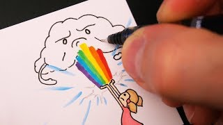 How I Made the Grumpy Cloud Flipbook