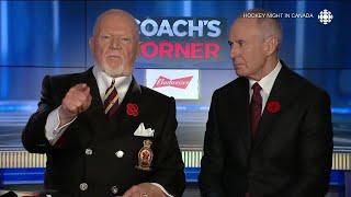 Family member of veteran calls for apology from Don Cherry
