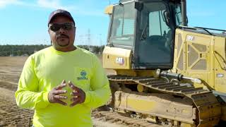 Cat D1 Small Dozer Customer Story - Swell Construction Group (Florida, USA)