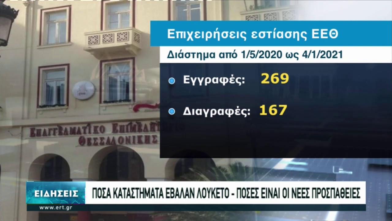 Μεγάλο πλήγμα στην εστίαση της Θεσσαλονίκης | 15/01/2021 | ΕΡΤ