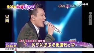 2016瘋跨年~張信哲 羅志祥熱力開唱│中視新聞20151231