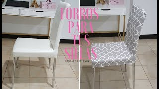 FORROS PARA SILLAS / CHAIR COVER
