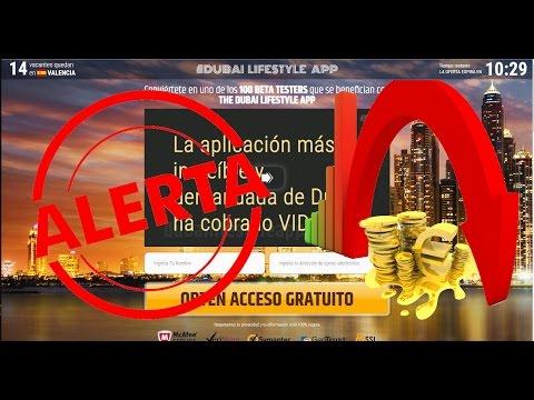 Dubai Lifestyle App es ESTAFA!! - ALERTA 100% FALSO - ¡NO INGRESAR DINERO!