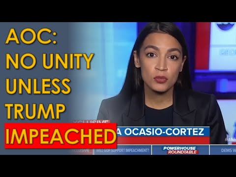 AOC HAMMERS Republicans Opposing Trump Impeachment on ABC with George Stephanopoulos