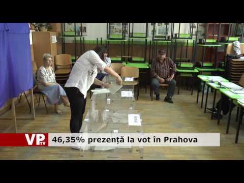 46,35% prezență la vot în Prahova