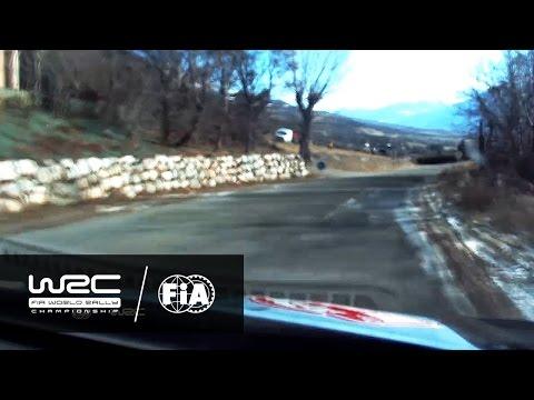 WRC - Rallye Monte-Carlo 2017: ONBOARD Neuville SS05