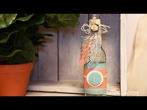 Feather Bottle Quick Make