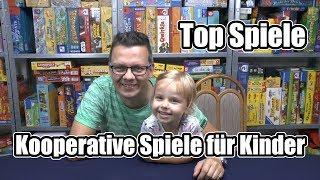 Top Spiele - Kooperative Spiele für Kinder - Gemeinsam gewinnen oder verlieren