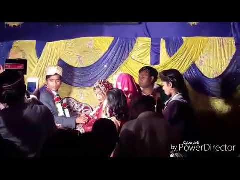HD dehati shadi  jaimala funny comedy  by ramesh sawant