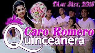 Caro Romero Quinceanera Surprise Dance | Baile Sorpresa | #rhythmwriterz