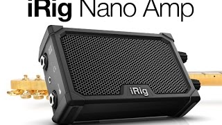 IK Multimedia iRig Nano Amp - RD Video