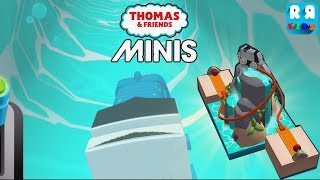 New Track The Giza Waterfall with Aquatic Spencer in Underwater - Thomas & Friends Minis