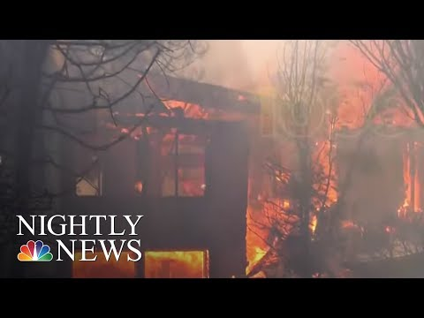 Thomas Fire Third Largest In California History | NBC Nightly News