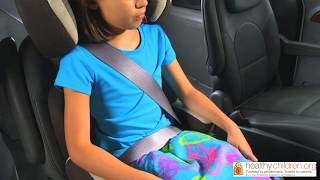 How to Use a Booster Seat