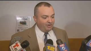 Peter Mayer on News 12 discussing his most recent case.
