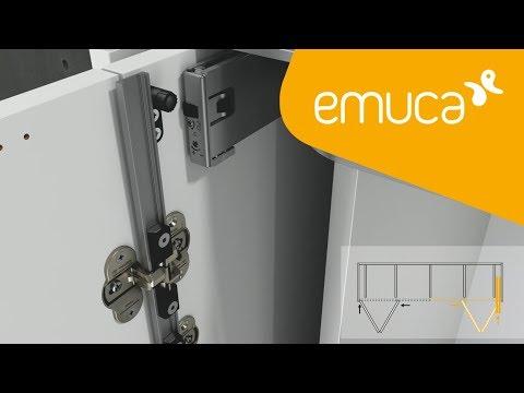 Cómo instalar un sistema corredero Folding Concepta 25 - Emuca