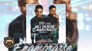 No Quiere Enamorarse (Audio - Remix) - Ozuna (Video)