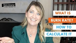 What is Burn Rate and how to calculate it? - StartUp Terms