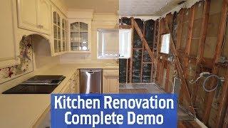 Building A New Kitchen Part 1: Complete Kitchen Demo