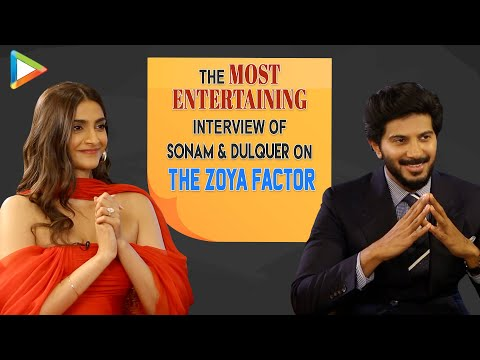 EXCLUSIVE: Sonam & Dulquer On The Zoya Factor | SRK's Cameo | Salman | EPIC Quiz & Rapid Fire