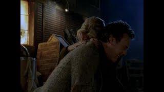 Баффи истребительница вампиров. Баффи бьет Джайлза. Не оставляй меня!