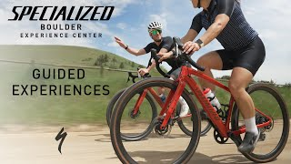 Guided Experiences at Specialized Boulder Experience Center