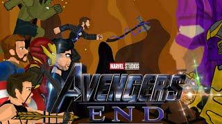 Мстители: Конец(рисуем мультфильмы) перезапуск