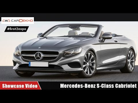 #first2expo : Mercedes-Benz S-Class Cabriolet | Showcase Video | CarDekho@AutoExpo2016