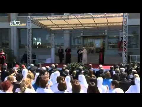 Visite de Benoit XVI à l'Université Catholique