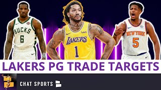 Lakers Trade Targets: 5 Point Guards The Lakers Can Target Via Trade Ft. Derrick Rose & Eric Bledsoe