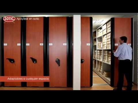 Estanterías Móviles | Archivos Deslizantes | Sotic S.A. ®