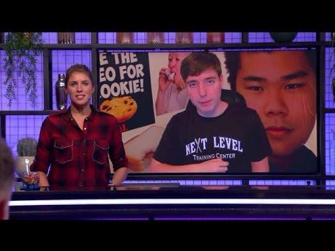 YouTuber telt van 0 tot 100.000 - RTL LATE NIGHT