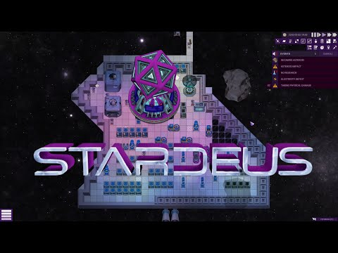 Check out the latest trailer for Stardeus, a space base building colony management sim