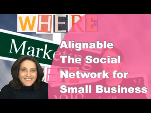 Alignable – The Social Network for Small Businesses