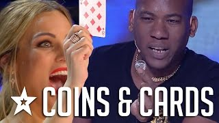 AMAZING MAGIC! Coin & Card Magic Tricks from Joel on Got Talent Espana!