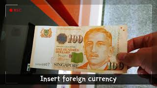 【Singapore】Korea's first currency exchange service
