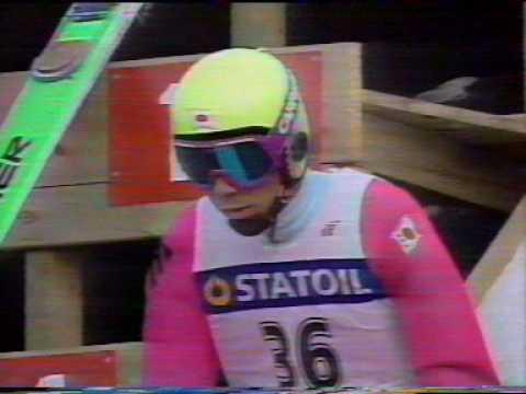 Noriaki Kasai - Vikersund 1990, Ski Flying World Championships