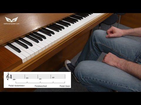 Klavier Pedale richtig benutzen lernen - Piano Pedal, Sostenuto/Moderator Pedal und Haltepedal