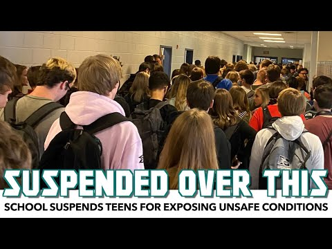 School Suspends Teens For Exposing Unsafe Conditions During Pandemic