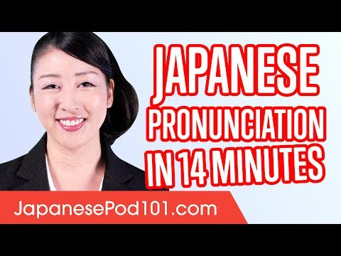 Download Learn Japanese Pronunciation in 14 Minutes Mp4 HD Video and MP3