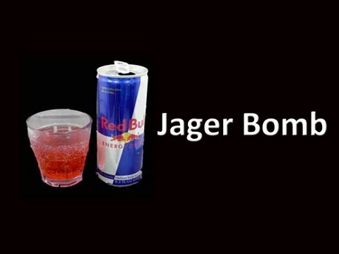 Video Jager Bomb Cocktail Drink Recipe