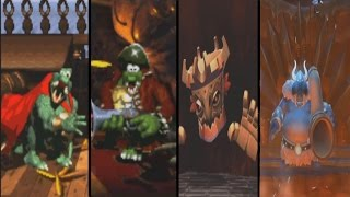 Evolution of Final Bosses in Donkey Kong Country Games