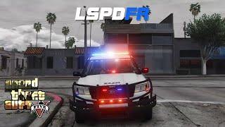 GTA 5 LSPDFR - Supervisor Patrol with Vocal Dispatch