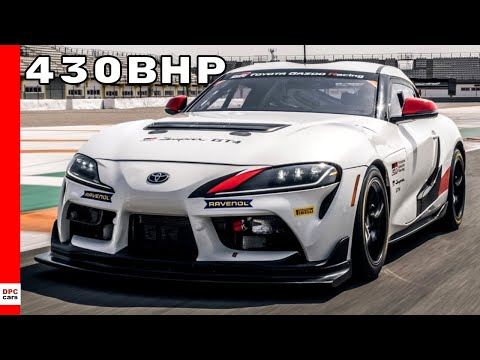 2020 Toyota GR Supra GT4 Race Car