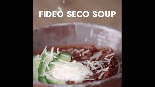 Fideo Seco Soup - Hispanic Kitchen