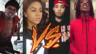 Chiraq Rappers Vs. Detroit Rappers