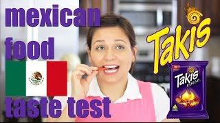 MEXICAN TAKIS FOOD TASTE TEST #4